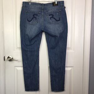 Rock & Republic Emo Skinny Jeans Sz 14